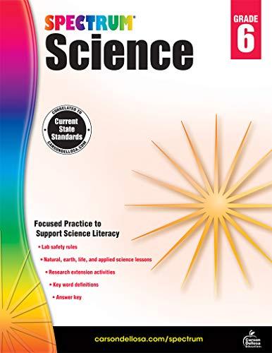 Spectrum Science, Grade 6 ()