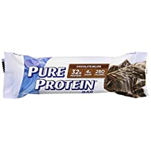 Pure Protein High Protein Meal Replacement Bar, Chocolate Deluxe, 2.75-Ounce Bar, 12-Count