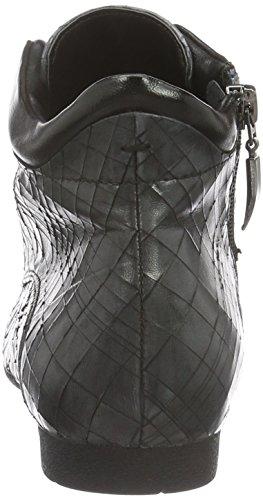 piombo Femme black Froide Piazza 990962 À Doublure Gris Bottines qTaXR