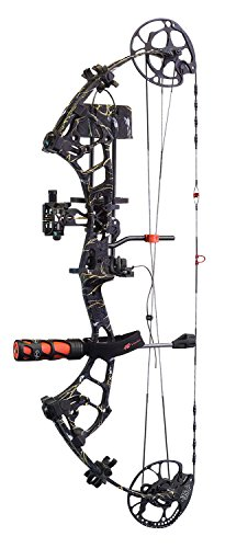 PSE Archery, Brute Force Lite Compound Bow, Right Hand, Skullworks 2, 70# (Force Lite)