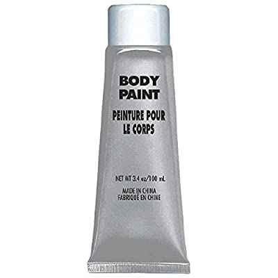Amscan Body Paint, Party Accessory, Silver: Toys & Games