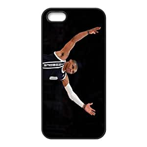 Generic Cell Phone Cases For Apple Iphone 5c 5c Cell Phone Design With 2015c NBA Oklahoma City Thunder(OKC) #0??Russell Westbrook niy-hc8325c14