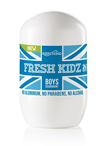 Boys Natural - Keep it Kind Fresh Kidz Natural Roll On Deodorant 24 Hour Protection - Boys Blue 1.86 fl.oz.