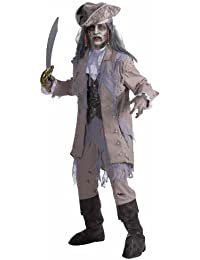 Men's Zombie Pirate Ghost Costume
