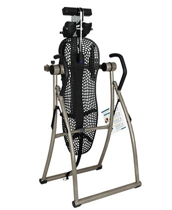 Teeter Contour L5 Inversion Table with Deluxe Easy-to-Reach Ankle Lock, for Back Pain Relief, FDA-Registered, 3rd-Party Safety Certified, Precision Engineering