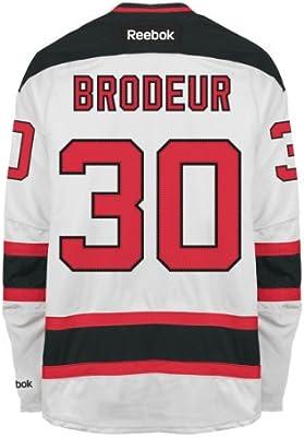 Amazon Com Martin Brodeur New Jersey Devils Reebok Premier Re