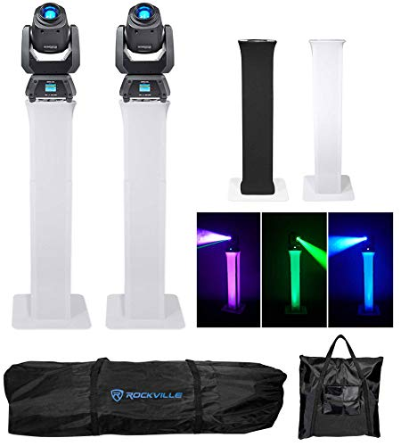 (2) Chauvet Intimidator Spot 260 Moving Heads+(2) Adjustable Totem ()