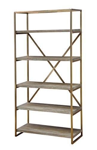 Coast To Coast Wood Bookcases Coast To Coast 13641 Bookcase 35.5 X 71.5 X 15.5 Inches Brown Model # 13641