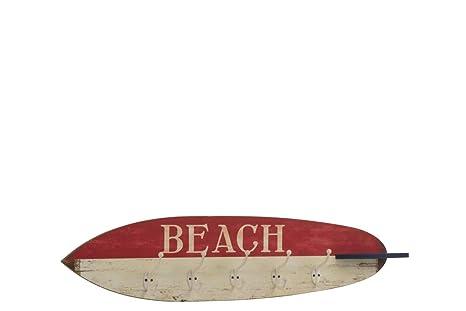 JOLIPA JLINE 93568 - Tabla de Surf con 5 Ganchos de Madera ...