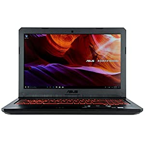 "CUK TUF FX504GE Gaming Laptop (Intel Core i5-8300H, 8GB RAM, 256GB SSD, NVIDIA GTX 1050 Ti 4GB, 15.6"" Full HD IPS Display, Windows 10) Thin & Light Gamers Notebook Computer"