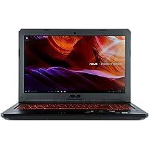 "CUK TUF FX504GE Gaming Laptop (Intel Core i5-8300H, 8GB RAM, 256GB SSD, NVIDIA GTX 1050 Ti 4GB, 15.6"" Full HD IPS Display, Windows 10) Thin & Light Gamers Notebook Computer"