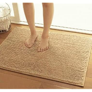 KLOUD City anti-slip microfiber Rug Camel Color(31 by 20-Inch)
