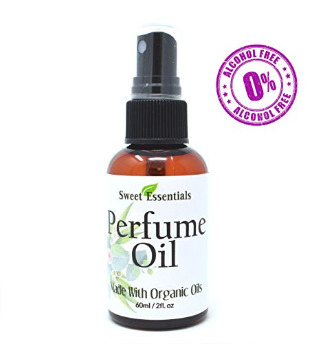 Cherry Perfume - Cherry Vanilla | Fragrance/Perfume Oil | 2oz Made with Organic Oils - Spray on Perfume Oil - Alcohol & Preservative Free