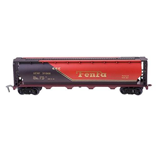 Perfk 1/87スケール 列車モデル 燃料タンカーモデル 鉄道風景 レイアウトの商品画像