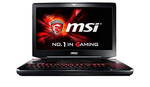 MSI Gaming GT80-2QES32SR311BW (Titan SLI) 2.9GHz i7-5950HQ ...