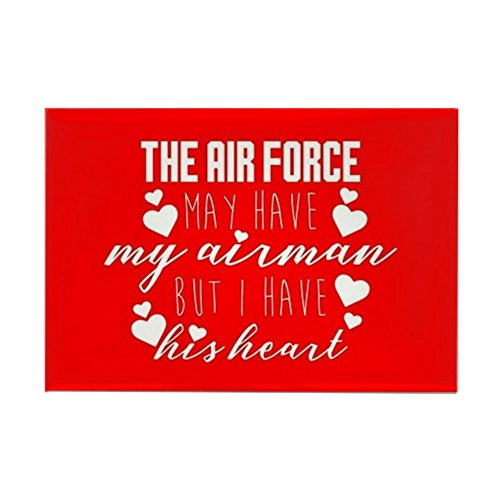 Airmans Heart (CafePress - Airman I Have His Heart - Rectangle Magnet, 2