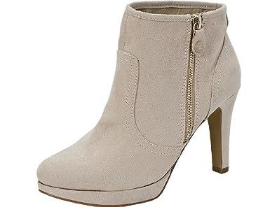 classic styles best shoes footwear s.Oliver Stiefeletten Ivory - Absatz Stiefelette - beige ...