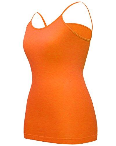 orange cami dress - 5