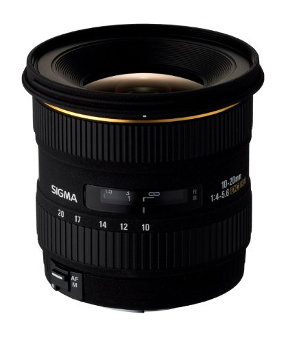 Sigma 10-20mm F4-5.6 EX DC HSM Wide Angle Lens for Canon - 1
