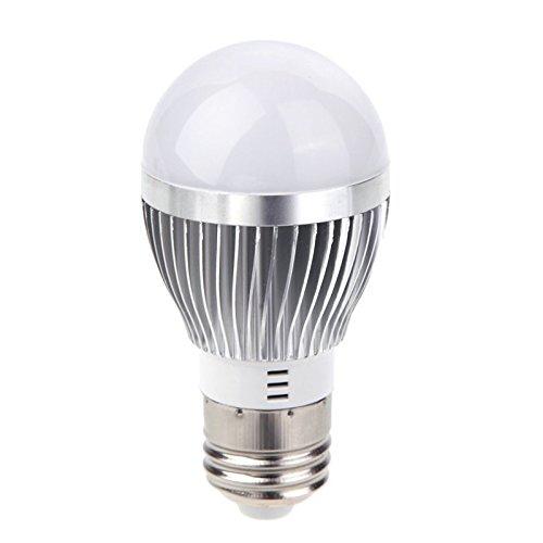 LED lampe - SODIAL(R)E27 3W LED Ampoule Lampe d'economie d'energie Ultra Bright Blanc 85-265V AEQW-WER-AW140067