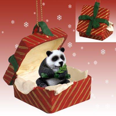 (Panda Red Gift Box Christmas)