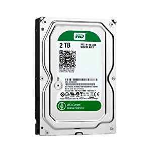 WD Green 2 TB Desktop Hard Drive: 3.5 Inch, SATA III, 64 MB Cache (WD20EARX) (Old Model)