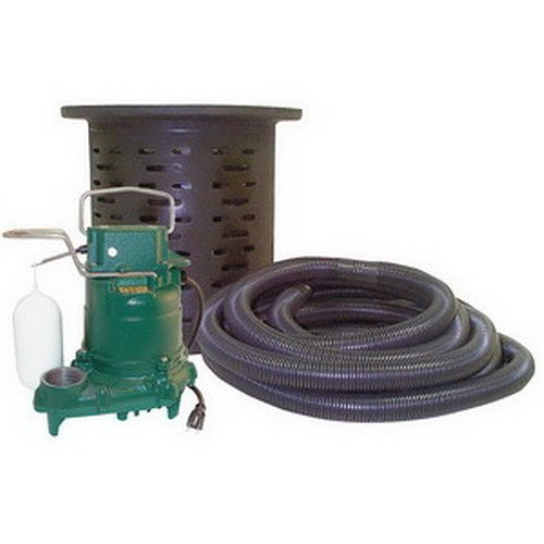 crawl-space-sump-pump-with-kit