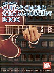 Guitar Chord Solo Manuscript Book