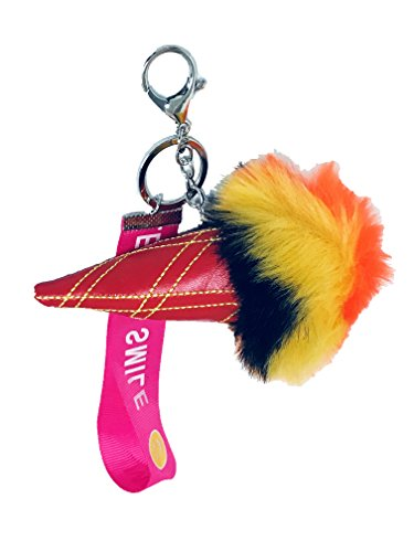 af6af999d994 Jual Fur Pom Pom Keychain Bag Charm
