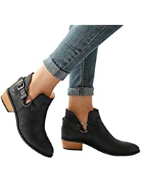 Clearance Sale Women Fashion Pointed Toe Martin Boots -...