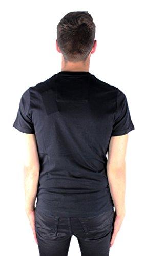 Philipp Plein My Plein MTK0103 02B5 Black Herren T-Shirt Schwarz