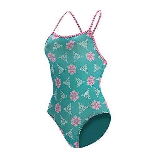 Dolfin Swimwear Girls Uglies Prints - Starlite,Sugar Plumz,8 by Dolfin