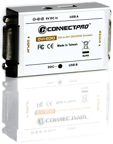 ConnectPRO DVI-EDID-KITU1, DVI DDC/EDID Ghost Emulator Professional Kit by ConnectPRO