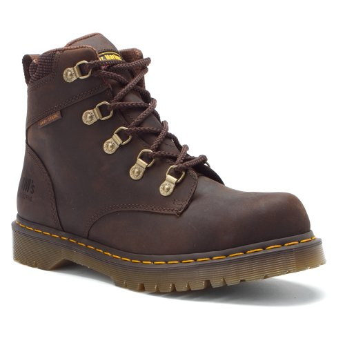 Dr. Martens Holkham Ns 5 Tie Hiker Gaucho Volcano 3 M Reino Unido (4-4.5 Us Hombres / 5-5.5 Us Mujer)