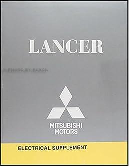 2009 mitsubishi lancer wiring diagram manual original mitsubishi rh amazon com 2009 mitsubishi lancer fuse box location 2009 mitsubishi lancer gts fuse box