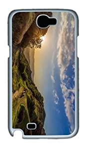 slim covers landscape cowboys topanga PC White case/cover for samsung galaxy N7100/2