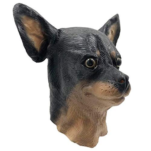 Off the Wall Toys Chihuahua Dog Costume Face Mask Kennel Club