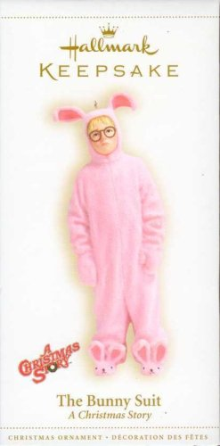 2006 Hallmark Keepsake A Christmas Story The Bunny Suit Ornament