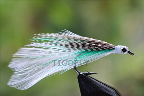 24 pcs discount fly top quality hair wing salmon trout fly for Discount fly fishing