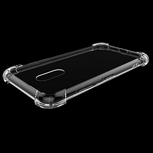 Xiaomi Redmi Note 4X Hülle, MSVII® Air-Cushion Design Durchsichtig Weich TPU Hülle Schutzhülle Case Und Displayschutzfolie für Xiaomi Redmi Note 4X JY70004