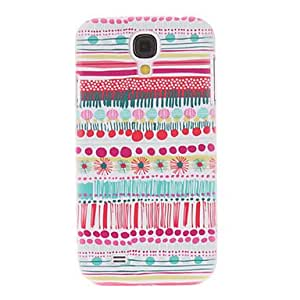 GJY Dandelion Stripes Painting Pattern Plastic Hard Back Case Cover for Samsung Galaxy S4 I9500