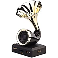 Dared Portable Mini Wireless Bluetooth 4.0 Stereo Manlan Flower speaker Full Range Speaker High-Def Sound 12 Hour Battery Life USB NFC Bluetooth Connect for Computers Cell phone Car