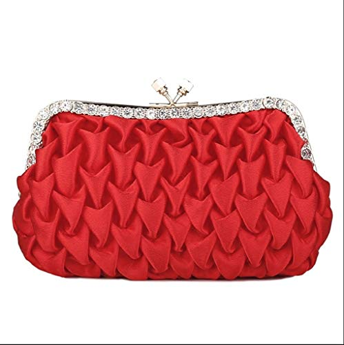By Banquet handbag Bag Red The The The Hand Hands And Is JUZHIJIA Bride'S Held Grab Bqg4w1I4A