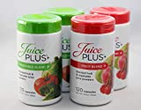 Juice Plus+ Fruit & Vegetable Blend - 4 Pack (120 Capsules/Bottle) - 4 Month Supply