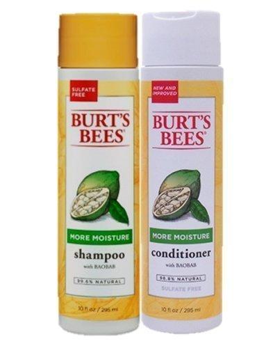 Burt's Bees More Moisture Baobab Shampoo and Conditioner Combo 10 fl oz.