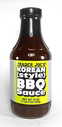 Style Barbeque Sauce (Trader Joe's Korean Style BBQ Sauce 19 Oz.)