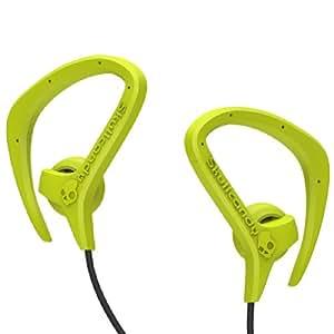 Skullcandy Chops Earphones/Earbuds Premium Headphone - Hot Lime/Black