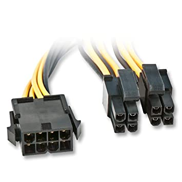 LINDY Stromkabel - 4 PIN ATX12V: Amazon.de: Computer & Zubehör