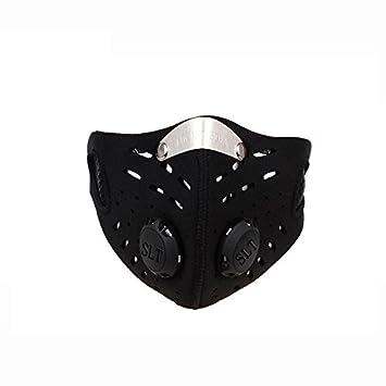 El montar mascaras - WOLFBIKE anti-contaminacion ciclo en ciudad Mascara Boca-mufla mascara