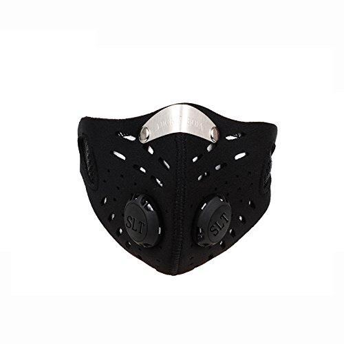 WOLFBIKE im Freien Sport-Maske Filter Luftschadstoff fuer Fahrrad Reit Reise Freiluft-Aktivitaeten Schutz Universal SPHHQLF4909